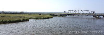 Meiningenbrücke auf der Anreise zum Darß