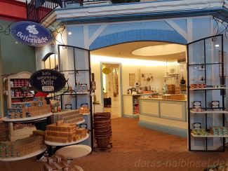 Seifenküche in Karls Erdbeerhof