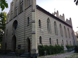 Ansicht der Peter Pauls Kirche in Zingst