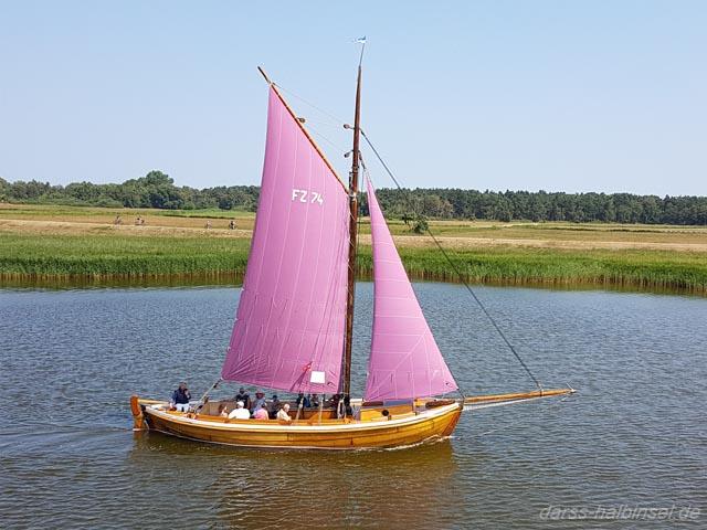Zeesboot auf dem Bodden