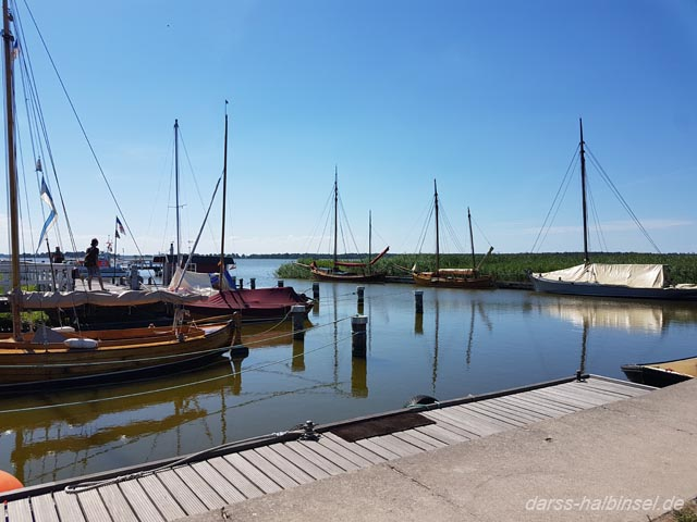 Zeesboote Hafen Wieck
