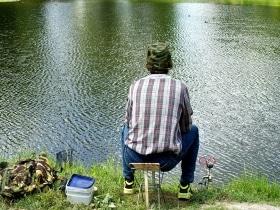 Angler auf dem Darß