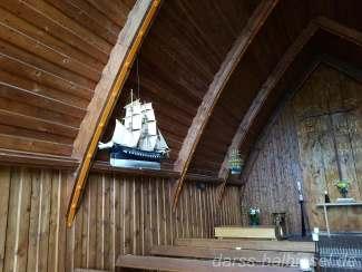 Schiffsmodelle in der Schifferkirche