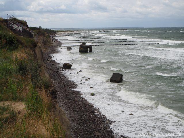 Blick von Steilküste Richtung Wustrow