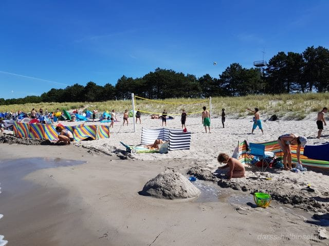 Strandleben in Zingst