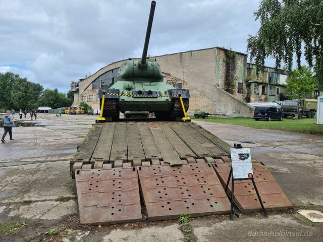 Panzer des Technik Museum Pütnitz